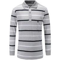U.S. POLO 男士长袖polo衫