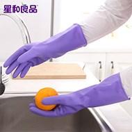 星和良品加厚防水洗碗手套6双