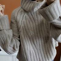 若星欧洲站加厚纯羊毛衫