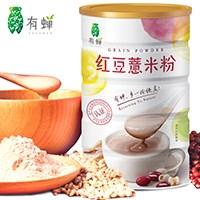 有蝉红豆薏米粉代餐粉600g