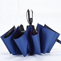 全自动十骨黑胶超大防风遮阳伞
