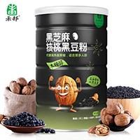 禾邦黑芝麻核桃黑豆粉500g