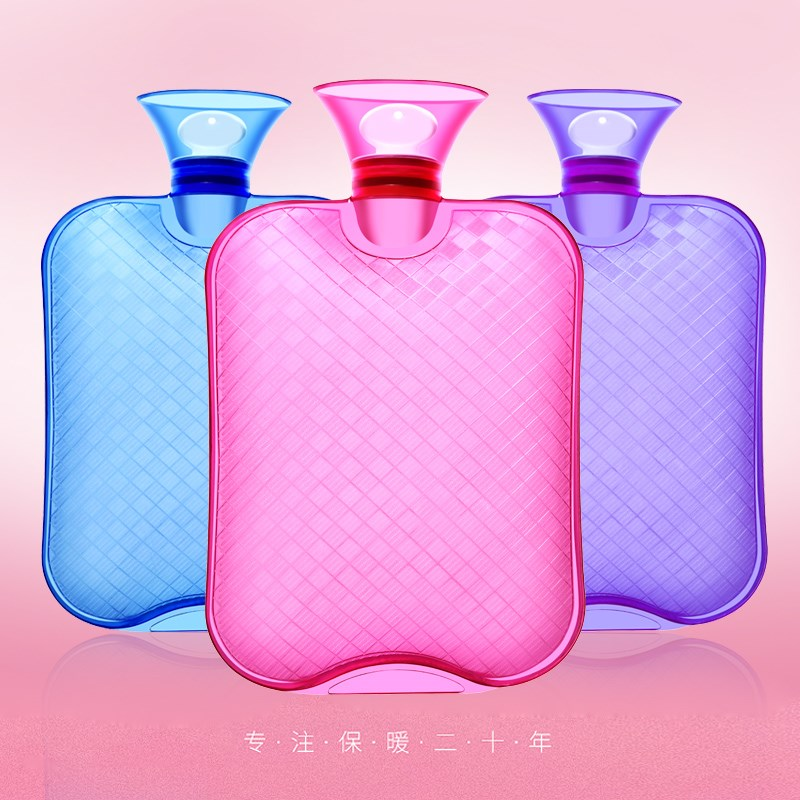 PVC注水热水袋+布套