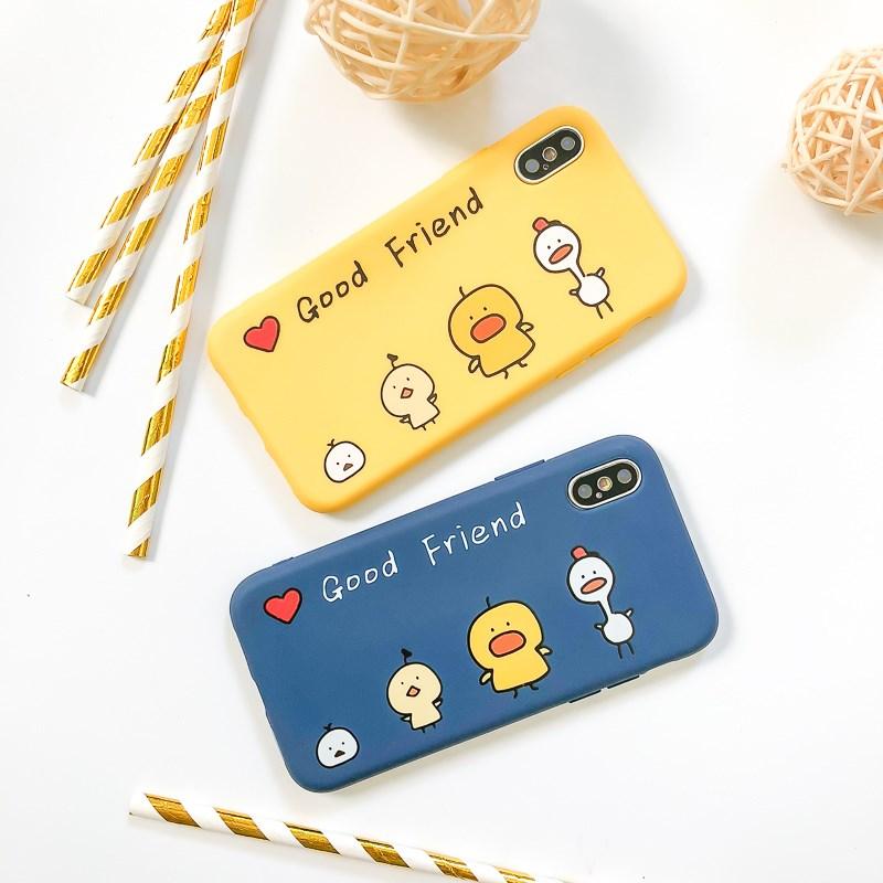 苹果全系列小黄鸭手机壳