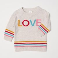 20日0点:H&M女婴幼童针织衫