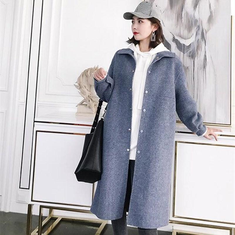30%羊绒中长款羊毛大衣
