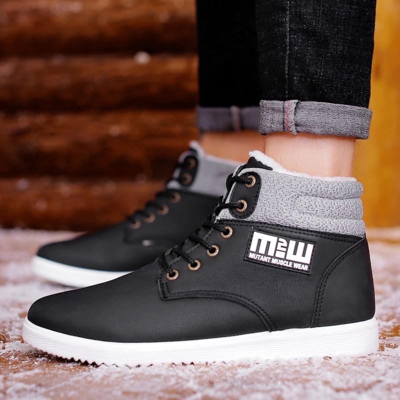 【时尚潮流】男士保暖雪地靴