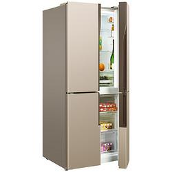 美菱 446升 十字对开门变频冰箱