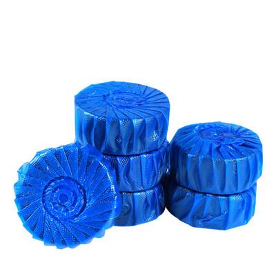 柠檬味洁厕灵蓝泡泡20个装
