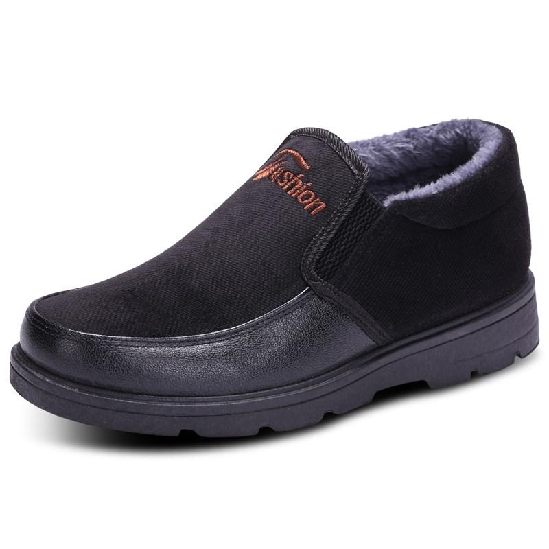 男老北京休闲棉鞋保暖鞋