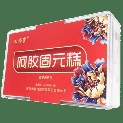 东阿固元膏阿胶块15gX20袋
