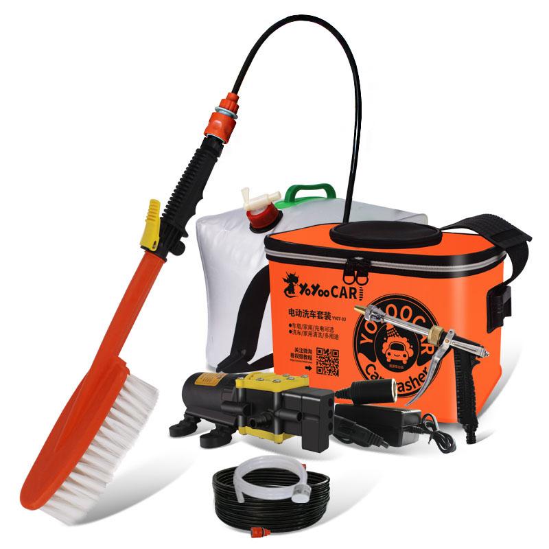 洗车神器便携式洗车器洗车泵高压