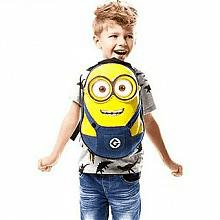 神偷奶爸 小黄人儿童3D双肩背包*2件