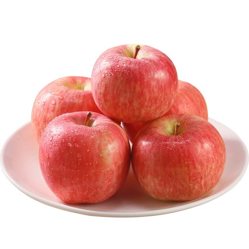 新鲜现摘红富士苹果第二件0元合发5斤