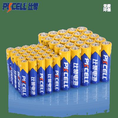 比苛碳性无汞电池5号7号共24节