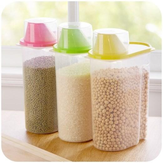 杂粮收纳罐4个装颜色随机