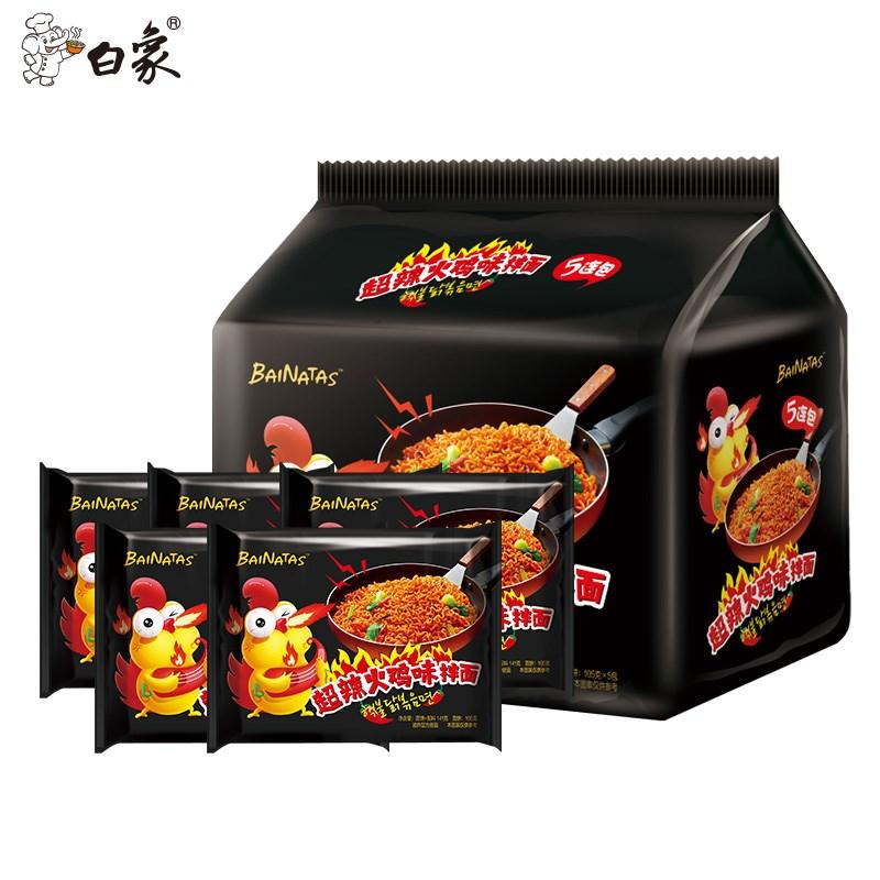 白象超辣火鸡面拌面*5包