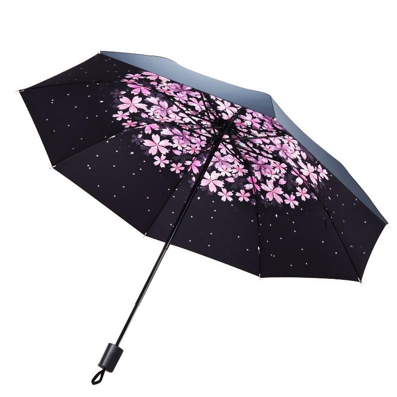 梦莎德 清新便携晴雨两用雨伞