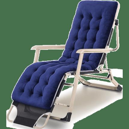 午睡神器:折叠躺椅送枕头