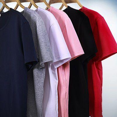 宽松纯棉短袖t恤打底衫2件装