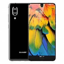 夏普 全面屏手机4GB 64GB 晶耀黑
