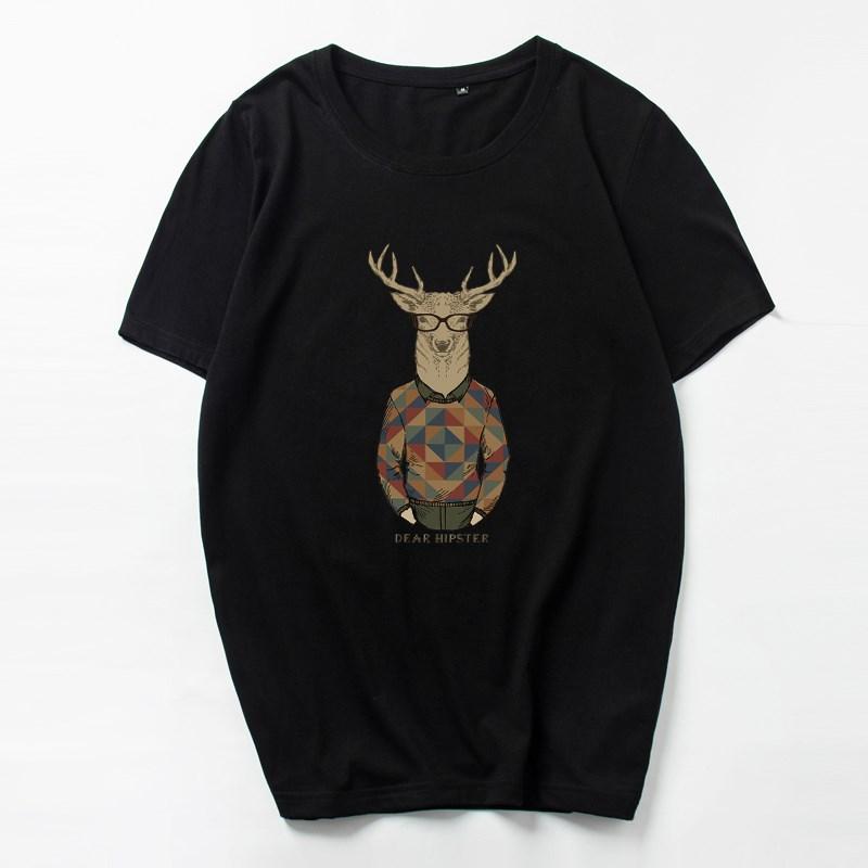 加肥加大码潮流男士短袖T恤