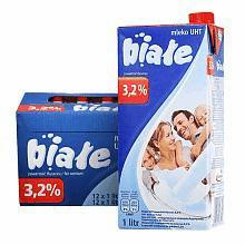 高温灭菌全脂牛奶 1L*12盒