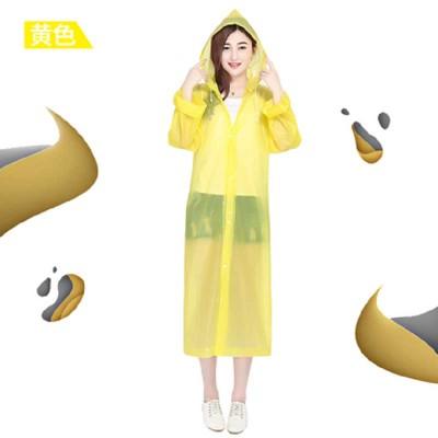 时尚加厚加大透明防水耐磨雨衣
