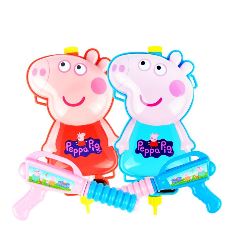 小猪佩奇儿童背包水枪