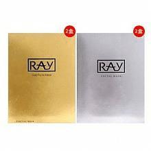 RAY蚕丝面膜(金色款20片+银色款20片)