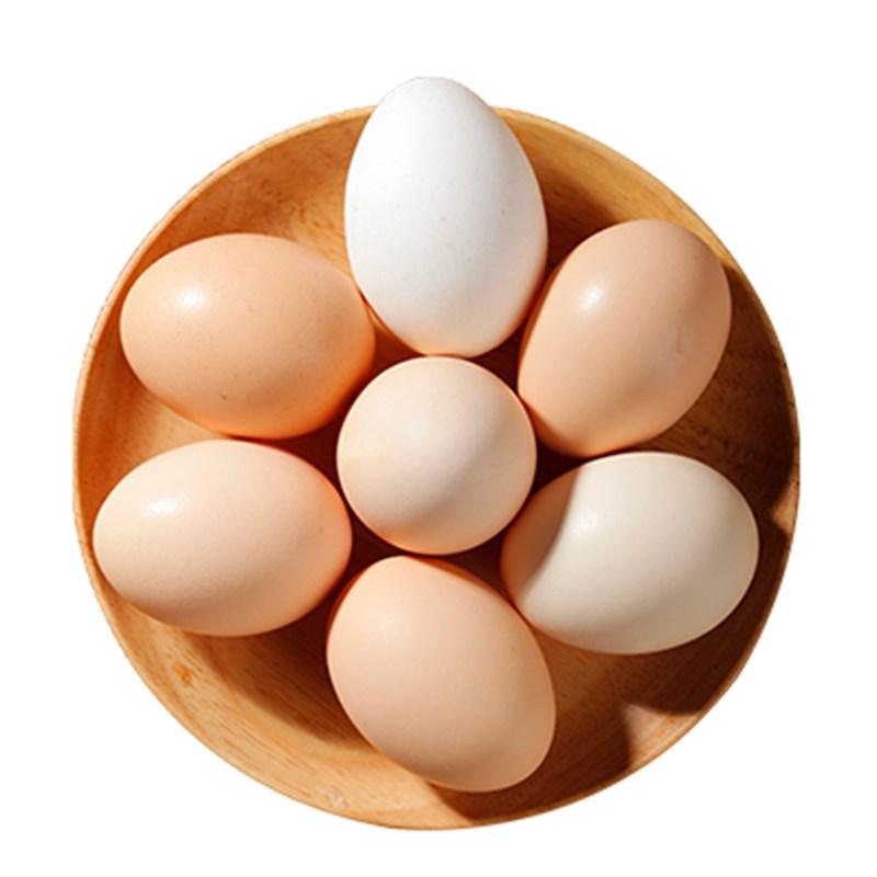 30枚九嵕山农家散养新鲜土鸡蛋