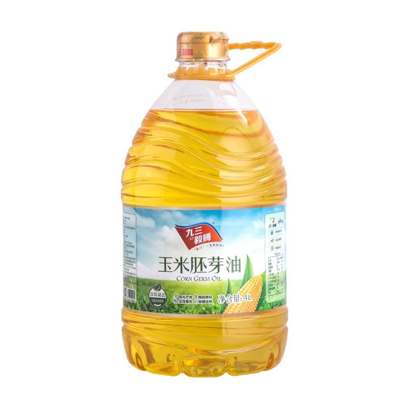 九三毅腾玉米胚芽油4L