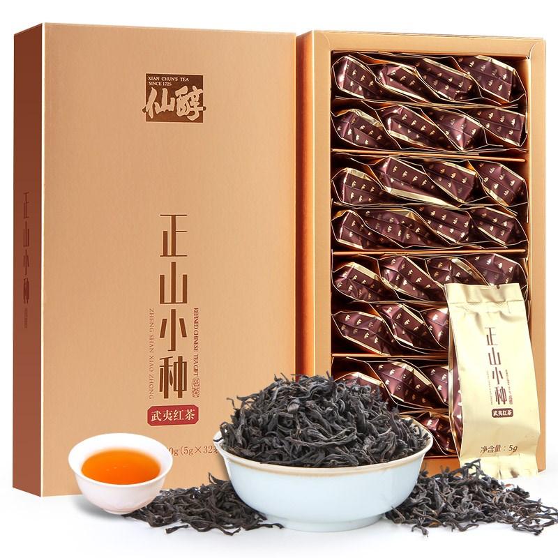 【仙醇】特级红茶正山小种礼盒装