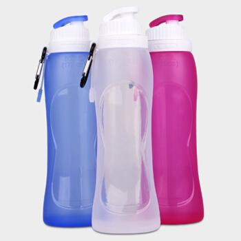 便携式硅胶杯饮水杯登山软杯