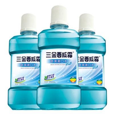 三金西瓜霜专利漱口水3大瓶