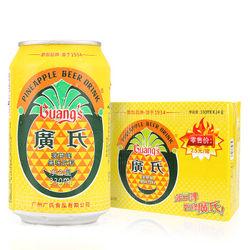 广氏 菠萝麦芽味 果啤 330ml*24罐