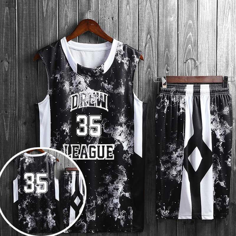 夏季个性篮球服套装
