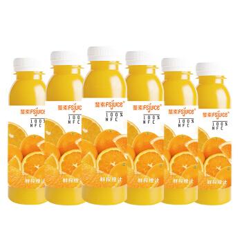 斐素橙汁果汁310ml*6瓶