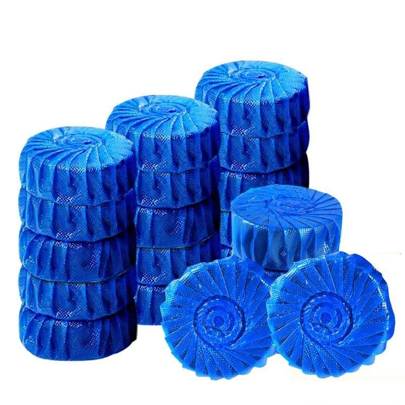 亮标蓝泡泡20枚洁厕宝