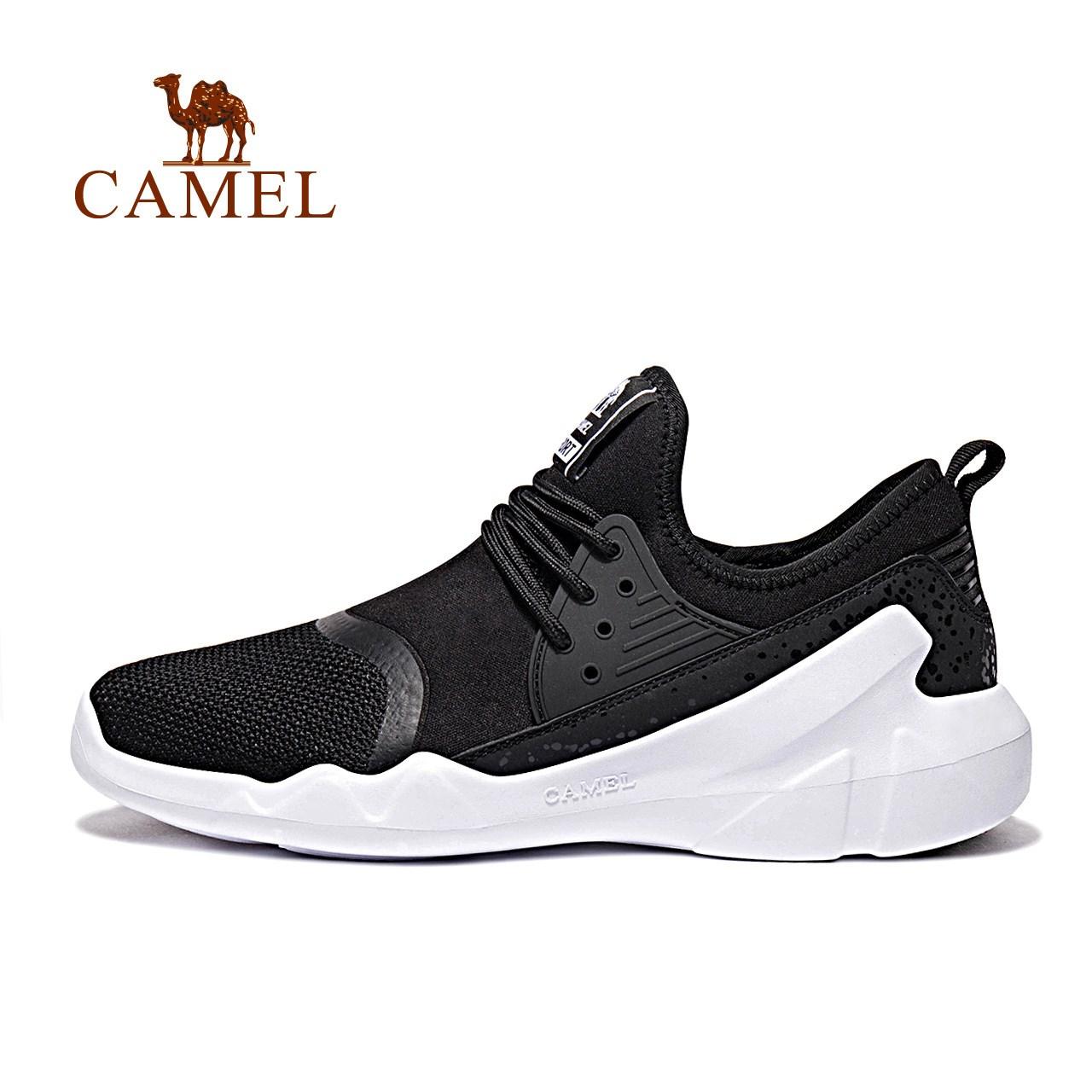 骆驼户外情侣款运动跑鞋