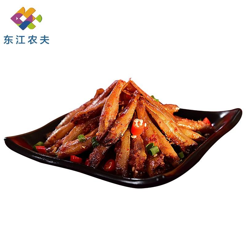 东江农夫酱汁香辣小鱼仔30包