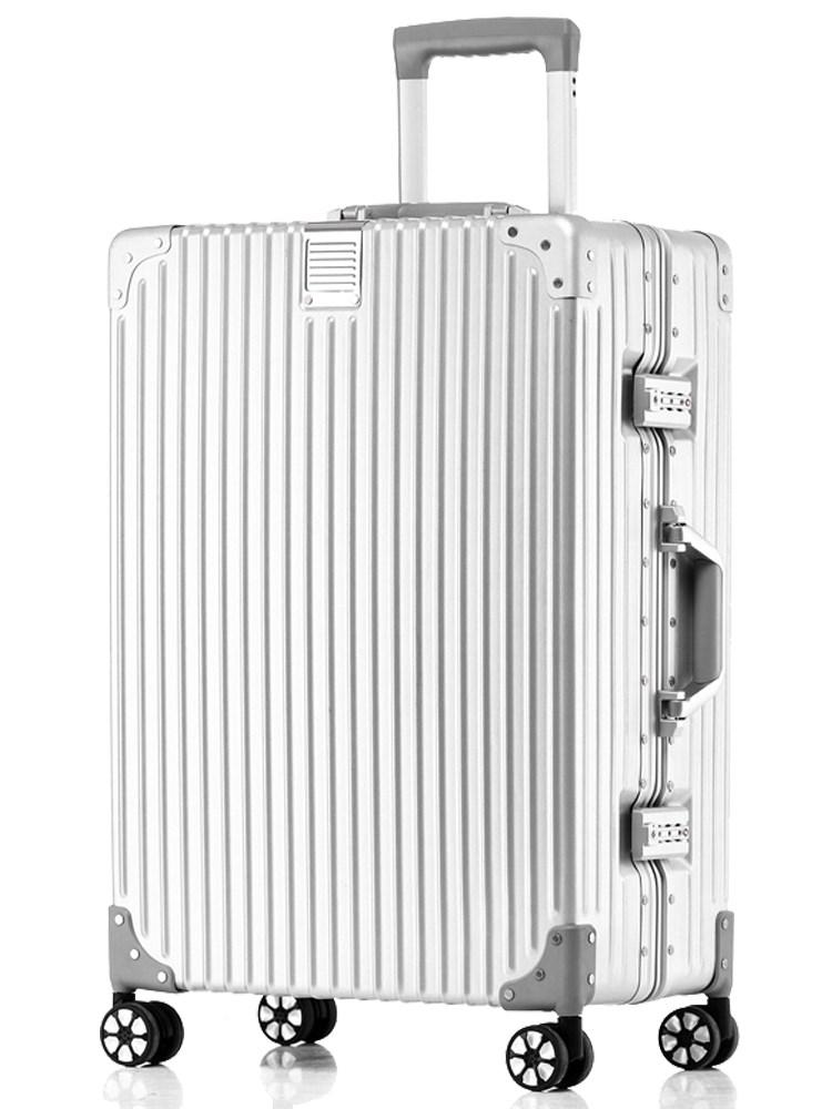 复古登机密码拉杆行李箱20寸