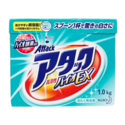 花王 酵素洗衣粉 1.0kg *6件