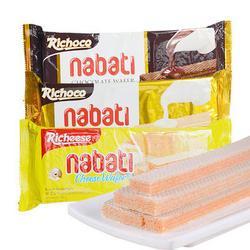纳宝帝 威化饼干 巧克力/香草/奶酪180g*5盒