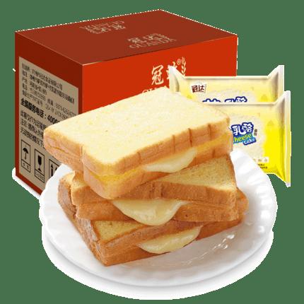 冠达芝士乳酪全麦吐司420g