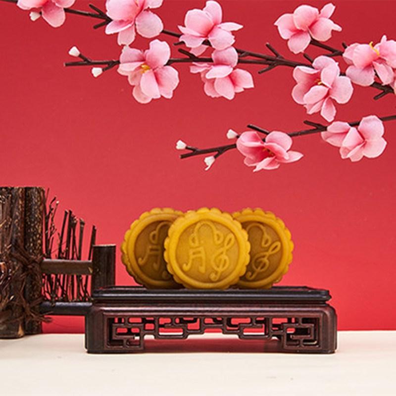 8个铁盒装流心奶黄广式月饼