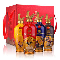 五粮液 52度 丁酉鸡年纪念酒500ml*4瓶