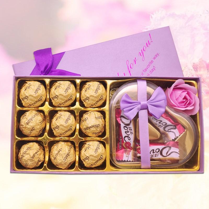 德芙巧克力礼盒装12枚