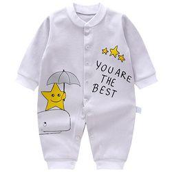 贝乐咿 婴儿连体衣爬服 3-12个月