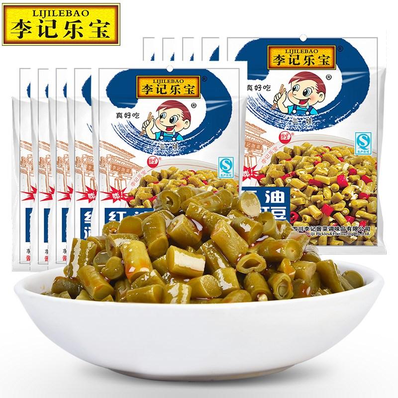 李记乐宝酸豆角100g*10袋